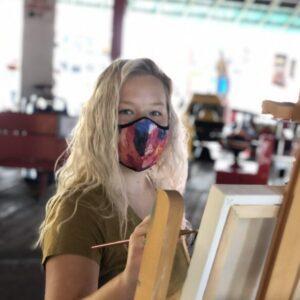 Manitou Paints plein air painter