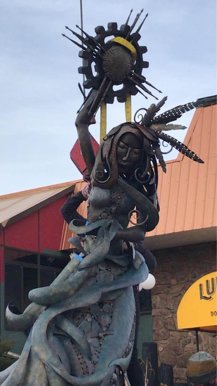 Spirit of Manitou Sculpture